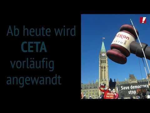 Jetzt ist CETA vorläufig in Kraft - noch kann das Handelsabkommen verhindert werden