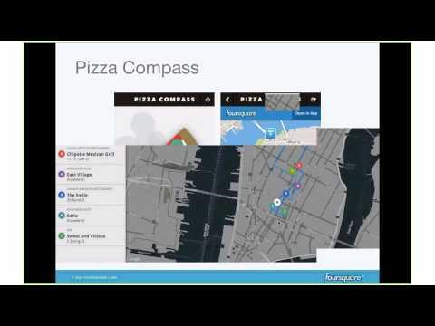 Forsquare APIs by David Hu (Developer Advocate at Foursquare)