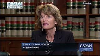 Senator Murkowski interviews with C-SPAN's Washington Journal