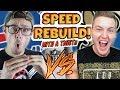 EXTREME SPEED REBUILD SUPERBOWL CHALLENGE!! Madden 18 vs RBT