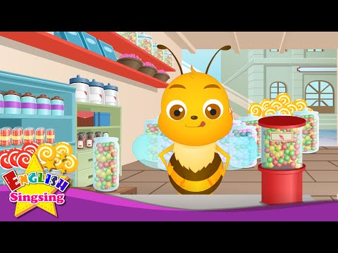 Ally Bally Bee - Nursery Rhymes - Mother Goose Rhymes - English Song For Kids