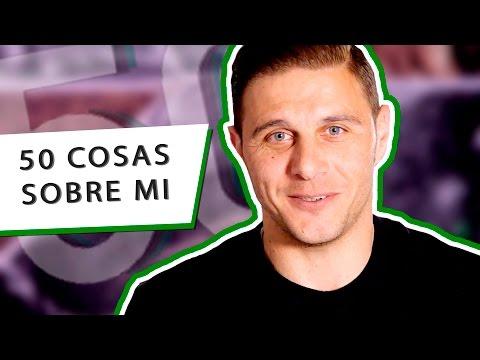 50 Cosas sobre mi   Joaquín Sánchez