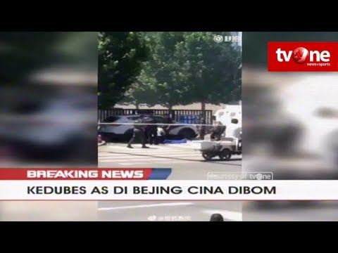 [BREAKING NEWS] Kedubes AS di Beijing Cina Dibom