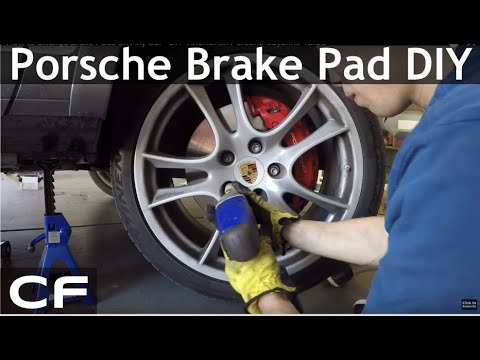 How To Change Brake Pads Rotors On Porsche Cayenne Turbo Diy Tutorial
