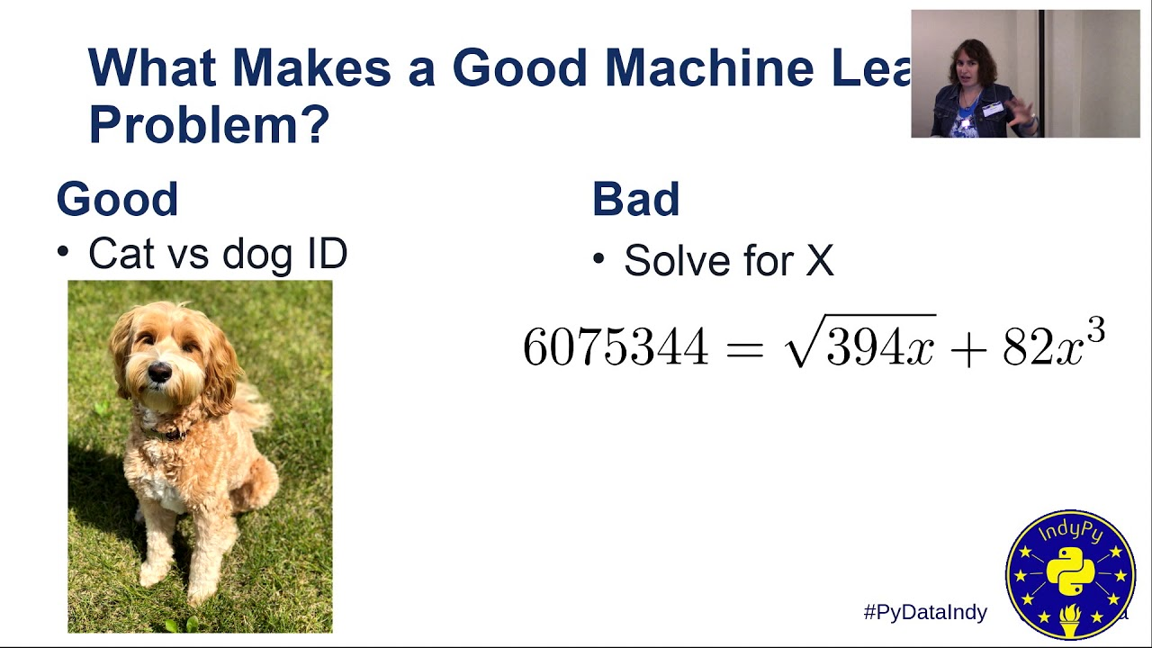 Image from Alyssa Batula: What is Machine Learning, and How Do I Get Started? | PyData Indy 2019