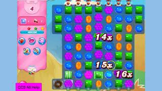 Candy Crush Saga Level 3202 16 moves NO BOOSTERS Cookie