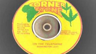 Barrington Levy - on the telephone - minibus extended mix - corner stone records  - reggae