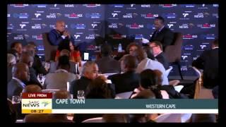 Jacob Zuma at  TNA breakfast 13 February 2015