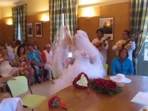 noce gitane mus entre des jeunes marie et chant gitan - Chant D Entre Mariage