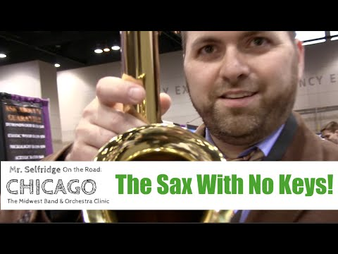 The Sax with NO KEYS!