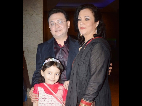 Actress Mandakini with Family