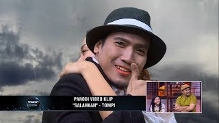 Ekspresi Tompi Saat Liat Parodi Video Clipnya