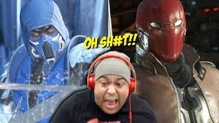 OH SH#T NEW CHARACTERS!!! [SUB-ZERO / RED HOOD] [INJUSTICE 2]