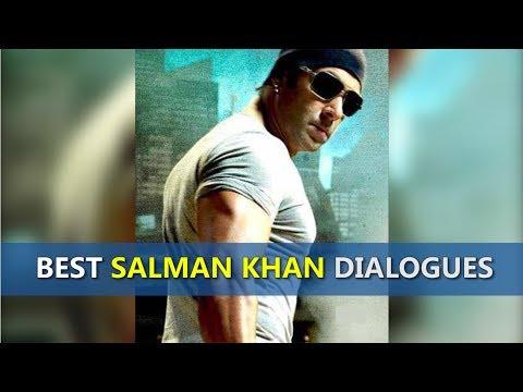 Best Salman Khan Dialogues