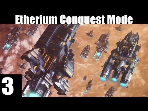 Etherium Conquest Mode Consortium Part 3 Rocket attacks