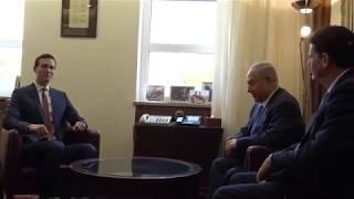 DFN: Jared Kushner, Jason Greenblatt Meet Israeli PM Netanyahu JERUSALEM, ISRAEL, 06.22.2018