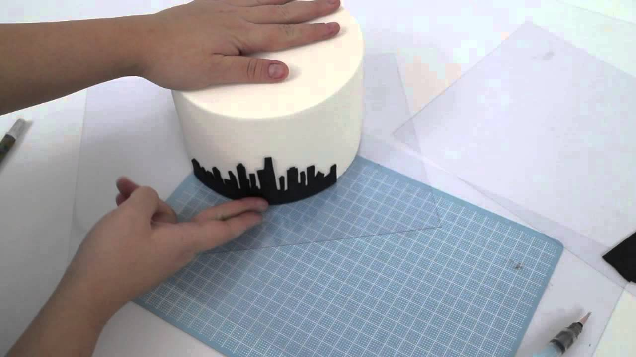 Gotham City Skyline Template