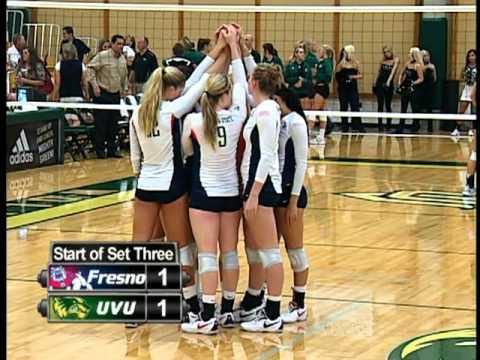 UVU: Women's Volleyball vs Fresno State University 2010