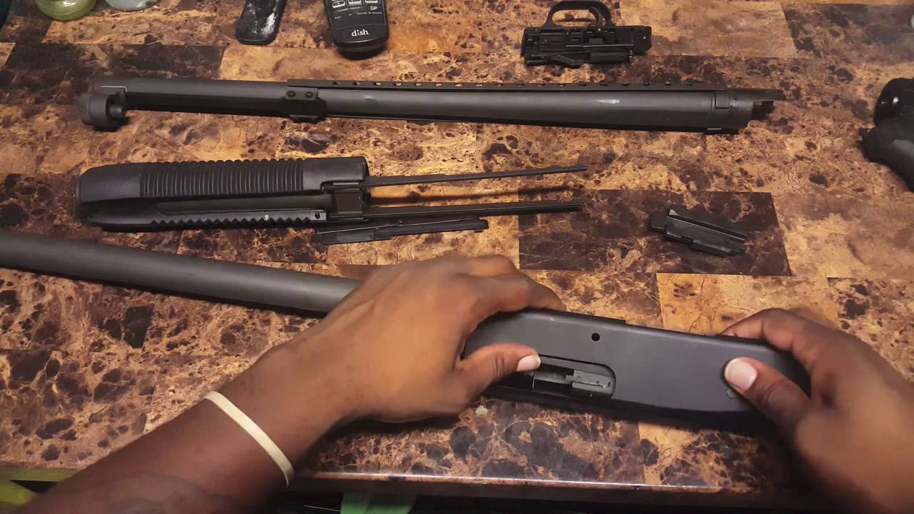 Mossberg 500 Pistol Grip Shotgun Disassembly & Reassembly | Lead 2 Rights