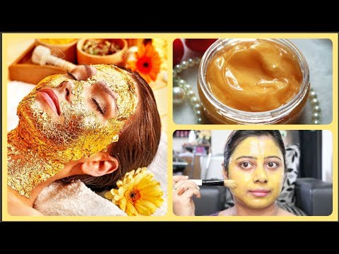 Variant, gold facial video that