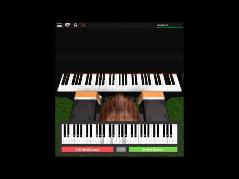 Angel With A Shotgun By The Cab On A Roblox Piano Youtube
