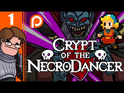 Let's Play Crypt of the NecroDancer Part 1 - Bambi Legs (Patreon Sponsored Video)