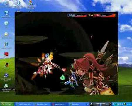 Grand Chase PvP Lv 34 VS Lv 42