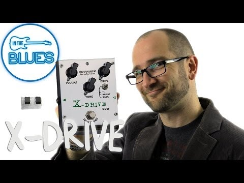 Biyang X-Drive Overdrive Pedal (Changing the Tone Chips)