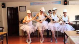 танец Белых Лебедей.    Поздравление мужчин на 8 Марта