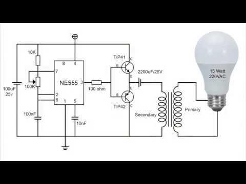 JOULE THIEF : inverter sederhana dengan NE555
