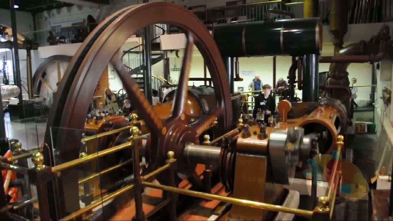 Steam And Diesel Engines At Kew Bridge Steam Museum