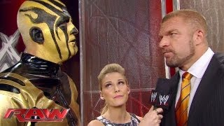 Goldust vows to get his brother, Cody Rhodes', job back: Raw, Sept. 9, 2013