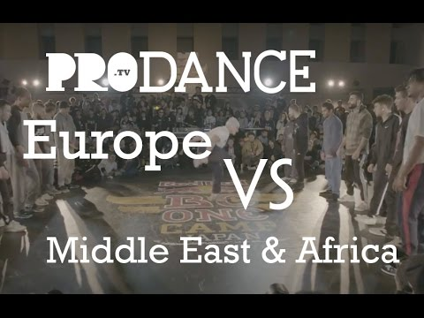 Europe vs Middle East & Africa | Red Bull BC One Continent Battle 2016