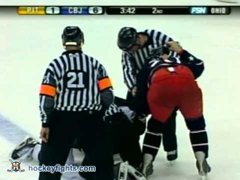 Ryan Malone vs Michael Rupp Jan 11, 2006