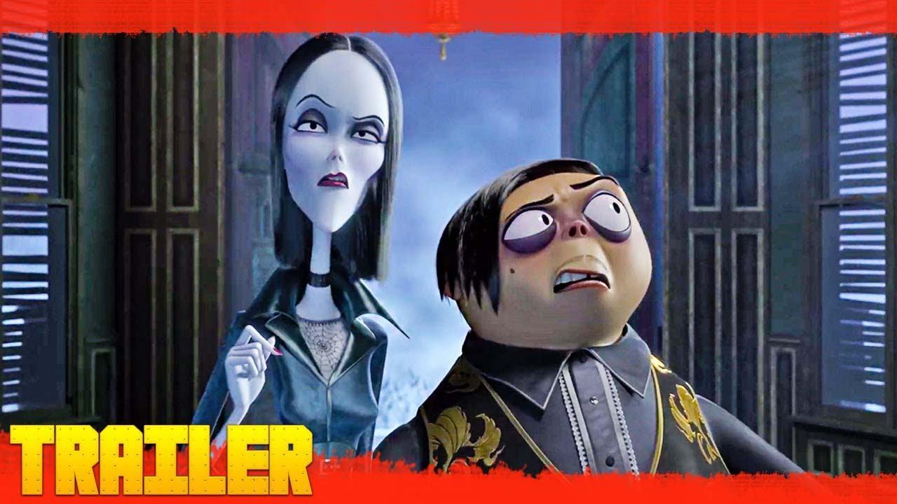 Los Locos Addams 2019 Primer Trailer Oficial Espanol Youtube