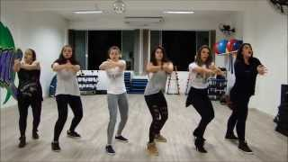 beyonce class - run the world (girls) - choreography - routine - santa cruz do sul