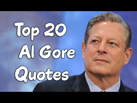 an analysis of the speech of the president al gore