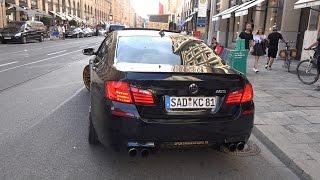 750hp BMW M5 F10 - Crazy Drifts