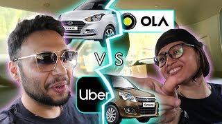 UBER vs Ola   Who will win ?   Lets Race !!!