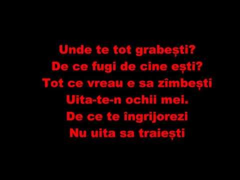 Iuliana Beregoi - Vina mea. Lyrics / Versuri