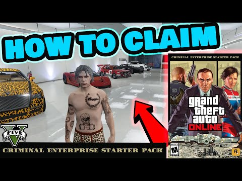 🔥 GTA 5 - How to claim Criminal Enterprise Starter Pack in GTA V online - Free GTA V Premium copy