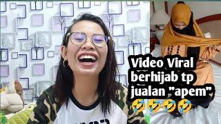 "VIDEO ""VIRAL"" BERHIJAB TAPI JUALAN APEM🤣🤣 SU'UDZON MULU ENTE"