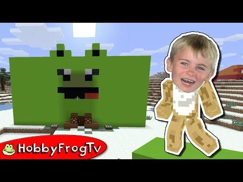 Minecraft HobbyPig House Build HobbyFrogTV