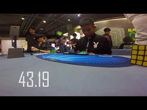41.39 Official 4x4 Average(Fail) [Bangkok Cube Day Summer 2018]