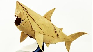 Origami Great White Shark - Nguyen Ngoc Vu - Super Complex