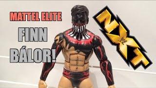 vuclip WWE NXT ACTION INSIDER: FINN BÁLOR Full Body Paint ELITE Mattel Custom Wrestling Figure Review!