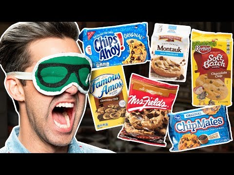 Blind Chocolate Chip Cookie Taste Test