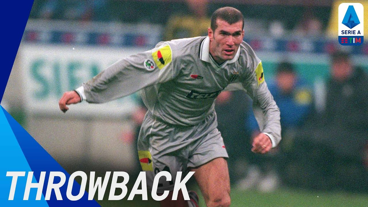 Zizou: Zinedine Zidane | Throwback | Serie A TIM