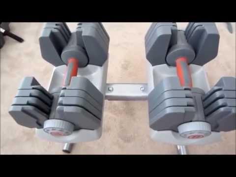 Nautilus Universal Power Pak 445 Adjustable Dumbbells review