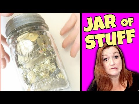 Mystery Jar Unboxing 2018 - Jewelry, Junk, and Oddities